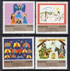 Brazil 1826-1829 Christmas MNH VF
