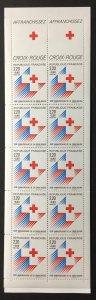 France 1988 #B601a Booklet, MNH, CV $8