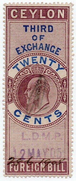 (I.B) Ceylon Revenue : Foreign Bill 20c (Third)