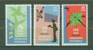 SURINAM/SURINAME 1973 MNH SC.408/10 Cent.stamps of Suriname