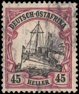 German East Africa 37 used