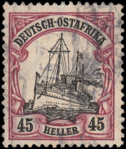 German East Africa 37 used