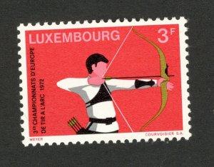 LUXEMBOURG - MNH SET -SPORT - 1972.