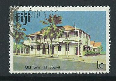 Fiji   QEII SG 580A VFU