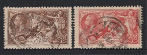 Great Britain a used 2/6 & 5/- from the 1934 set