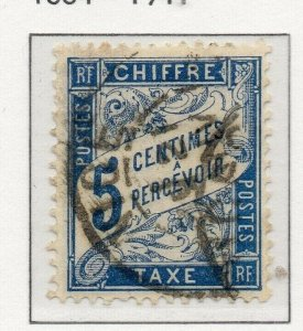 France 1893 Postage Due Issue Fine Used 5c. 313322