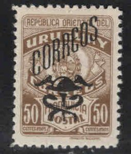 Uruguay Scott 552 mint hinged overprint stamp