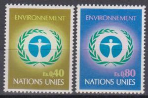UN Geneva #25-6 MNH VF (ST728)