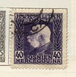 Bosnia Herzegovina 1912 Early Issue Fine Used 40h. NW-113582