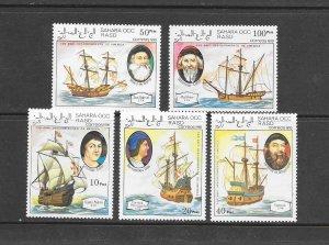 SHIPS - SAHARA OCC (NOT SCOTT LISTED)   MNH