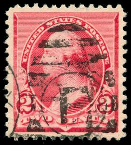 momen: US Stamps #220c Used PSE Graded XF-90