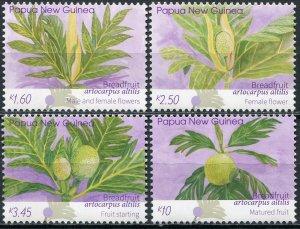 Papua New Guinea 2020. Breadfruit (Artocarpus altilis) (2020) (MNH OG) Set