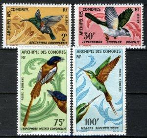 Comoro Island 1967 Birds, 4 of 6v in set VF MNH