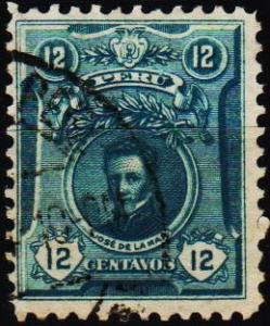 Peru. 1909 12c S.G.378 Fine Used
