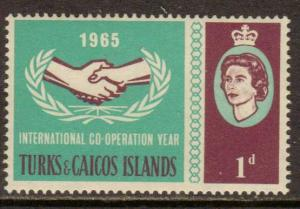 Turks & Caicos Isl.   #144  MLH  (1965)