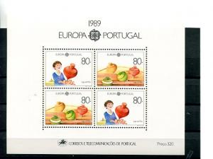 Portugal Europa  1989  Mint  VF NH   - Lakeshore Philatelics
