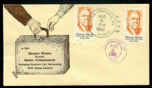 U.S. Scott 2095 FDC w/Scarce Weddle Cachet Unaddressed