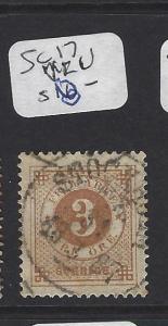 SWEDEN   (P1607B)  3   O  SC 17  SON   CDS   VFU