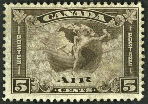 Canada Stamp Scott #C2 5c Air Mail 1932 Mint NH OG Never Hinged Well Centered