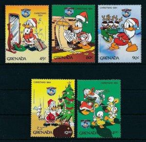[22509] Grenada 1984 Disney 50th Birthday Donald Duck and Christmas MNH