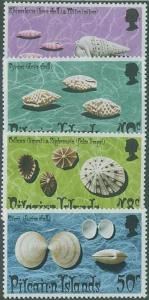 Pitcairn Islands SC#137-40 Sea Shells, set, MH