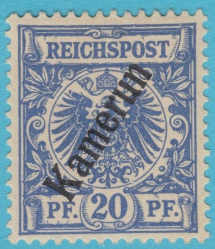 GERMAN COLONIES CAMEROUN 4  MINT HEAVY HINGED * OG NO FAULTS VERY FINE !