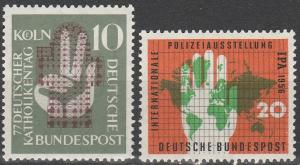 Germany #750-1  F-VF Used  CV $5.50  (C7119)