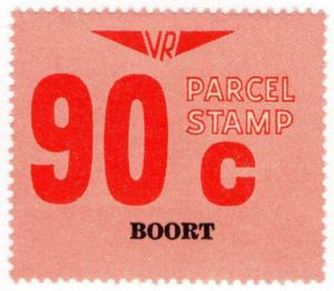 (I.B) Australia - Victoria Railways : Parcel Stamp 90c (Boort)