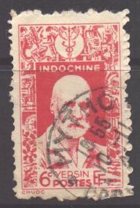 Indo-China SG290, 1943 Alexandre Yersin 6c used
