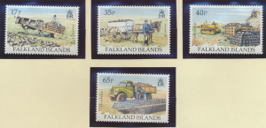Falkland Islands Stamps Scott #639 To 642, Mint Never Hinged - Free U.S. Ship...