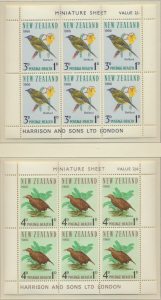 New Zealand Stamps Scott #B71a To B72a, Mint Hinged, Miniature Sheets - Free ...
