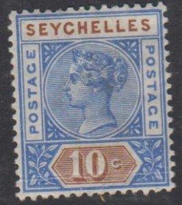 SEYCHELLES - Sc 7 / Mint HR - Victoria