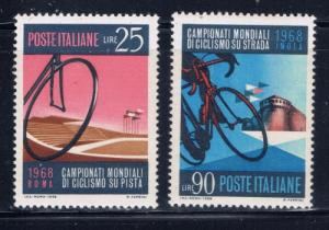 Italy 987-88 NH 1968 Bicycles