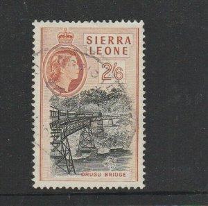 Sierra Leone 1956/61 2/6 FU SG 219
