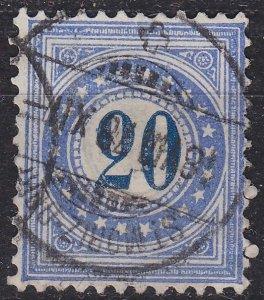 SCHWEIZ SWITZERLAND [Porto] MiNr 0006 I K a ( O/used ) [01]