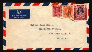 Burma 1940s Cover to USA - Z17048