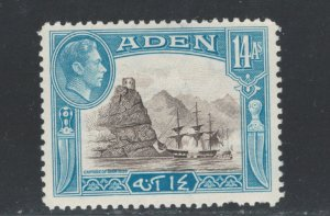 Aden 1945 Capture of Aden 14a Scott # 23A MH