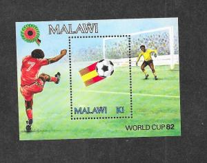 Malawi 405 Mint NH MNH Souvenir Sheet World Cup 82!