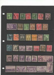 U.S. stamp collection