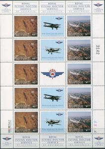 Australia Cinderella Royal Flying Doctor Service 1997 sheet MNG as issued