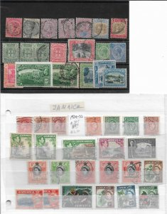 Jamaica From 1860 to 1970 ,lot of 45+ Stamps,Mint*/Used (GLN-1)