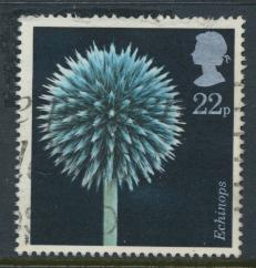 Great Britain SG 1348 -  Used - Flowers