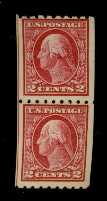 411 MINT PAIr F-VF OG NH Cat$55