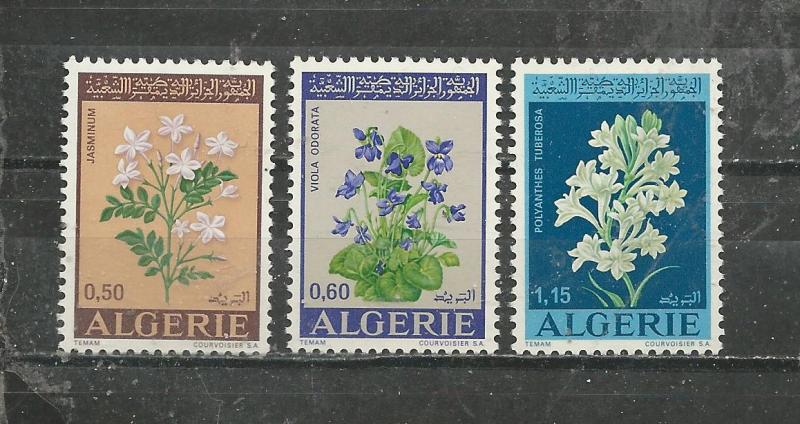Algeria Scott catalogue # 479-481