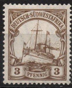 German South West Africa 1906-1919 #26 Mint *Hinged/Unused*