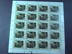 U.S.# 3338-MNH--PANE OF 20--FREDRICK OLMSTED/LANDSCAPE ARCHITECT--1999