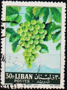 Lebanon. 1962 30p S.G.776 Fine Used