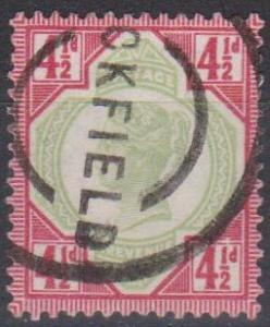 Great Britain #117 F-VF Used CV $42.50 (A9432)