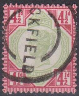 Great Britain #117 F-VF Used CV $42.50 (A9432)