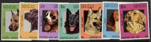 Laos 774-80 MNH Dogs